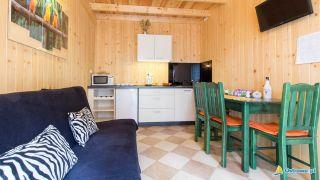 Domki i Apartamenty ALTAMIRA Ostrowo Sal - salonik