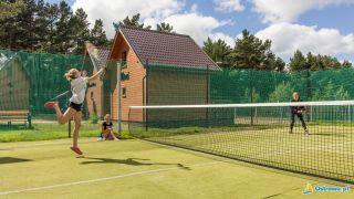 Domki i Apartamenty ALTAMIRA Ostrowo Boisko wielofunkcyjne (kort tenisowy, siatkówka, kosz)