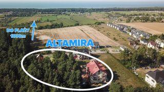 Domki i Apartamenty ALTAMIRA Ostrowo Odległość od plaży