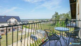 Domki i Apartamenty ALTAMIRA Ostrowo Widok na morze z balkonu
