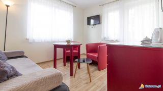 Domki i Apartamenty ALTAMIRA Ostrowo Apartament - pokój wypoczynkowy