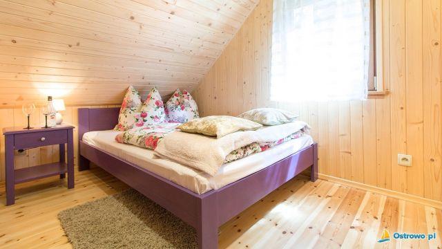 Domki i Apartamenty ALTAMIRA Ostrowo Skye - sypialnia Rodziców