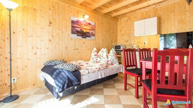 Domki i Apartamenty ALTAMIRA Ostrowo Kuba - salonik