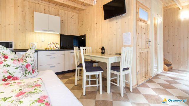 Domki i Apartamenty ALTAMIRA Ostrowo Cayo Largo - salonik