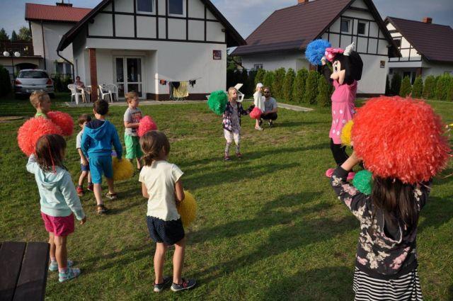 Komfortowe Domki MORSKA KRAINA Białogóra ANIMACJE DLA DZIECI