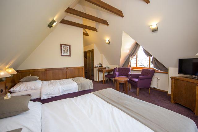 Hotel REDYK Ski&Relax*** Ząb k/Zakopanego Pokój 3-osobowy z widokiem na góry