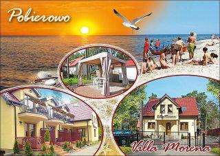 Villa Morena Pobierowo pocztówka