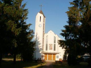 Domki Letniskowe BLISKO MORZA - 100m od plaży Międzywodzie Przy ośrodku - kościół.