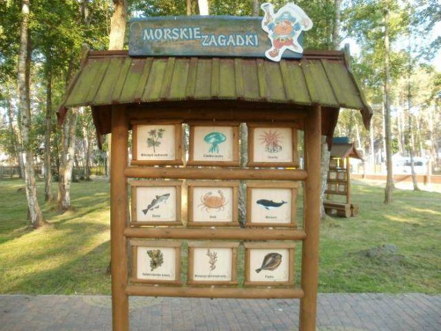 Domki Letniskowe BLISKO MORZA - 100m od plaży Międzywodzie Przy ośrodku - Park Edukacyjny - Wyspa Skarbów.