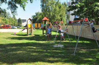 Ośrodek Wypoczynkowy SŁOWIANKA Darłówko Plac zabaw