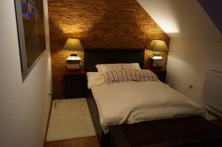 Domki Apartamentowe VISTA MARE Cisowo k. Darłówka sypialnia na piętrze